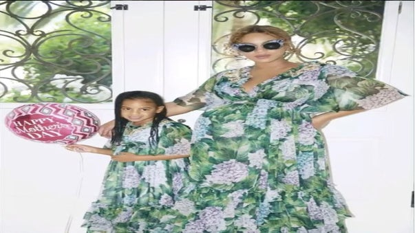 Photos: Beyonce Spent Mother's Day With Blue Ivy, Miss Tina