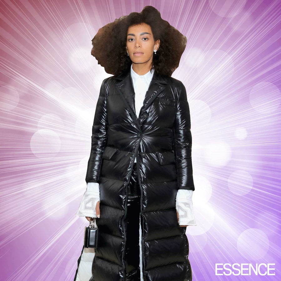 Solange Does it Again, Nails 2017 Met Gala Red Carpet