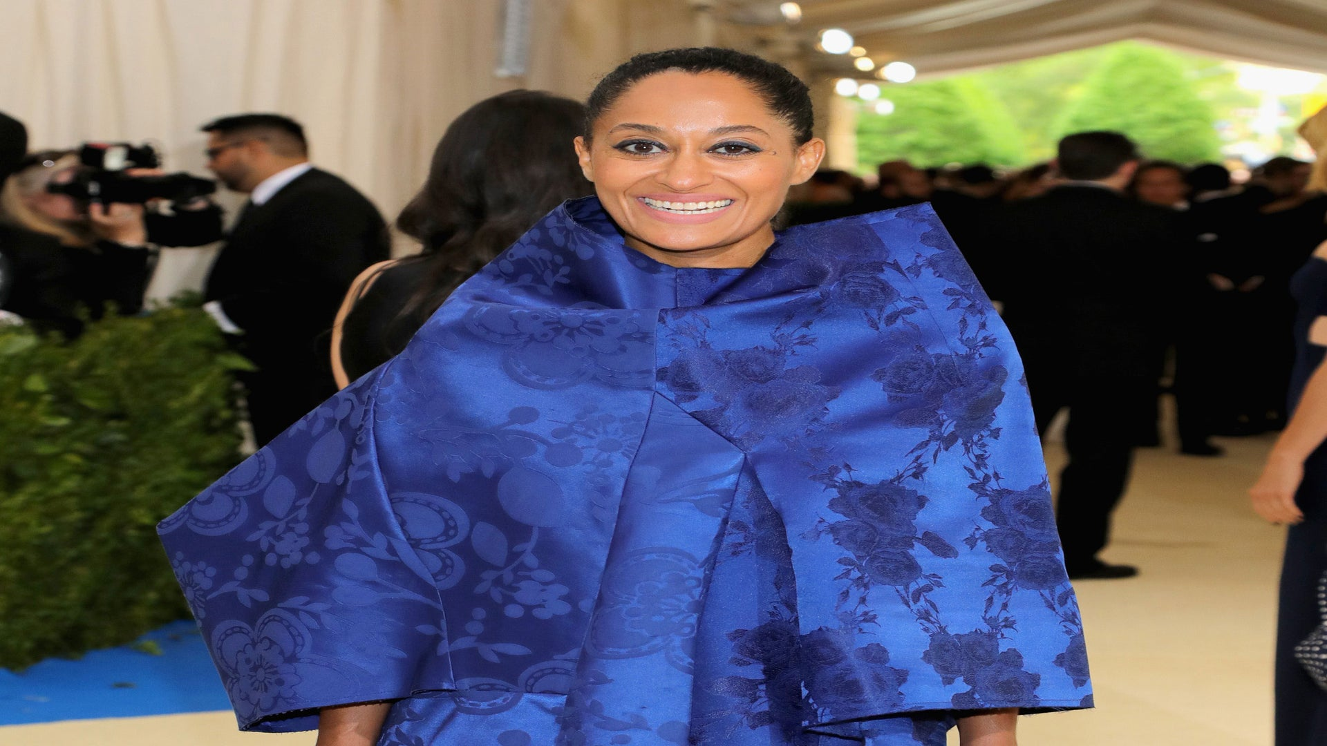 Tracee Ellis Ross Gives Bold Blue Moment at 2017 Met Gala