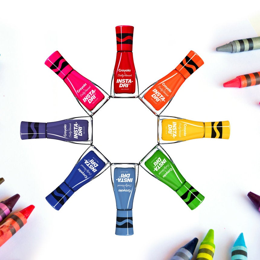 Our Inner Child Is Losing It Over These Crayola Nail Polishes