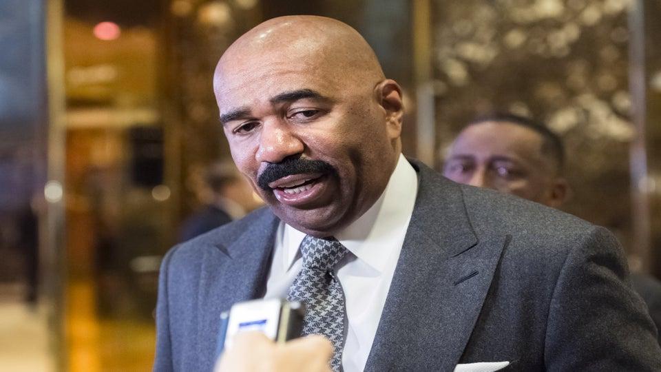 Steve Harvey Tells Flint To Enjoy Your Nice Brown Glass Of Water