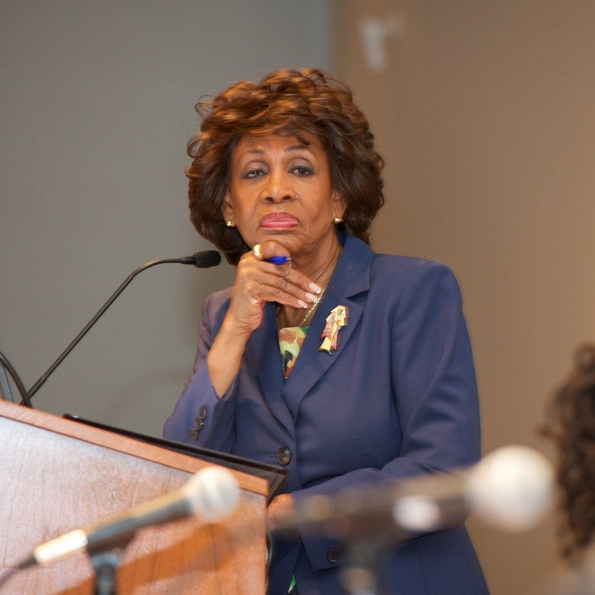 So About That Time A Reporter Claimed Maxine Waters 'Shoved' Him