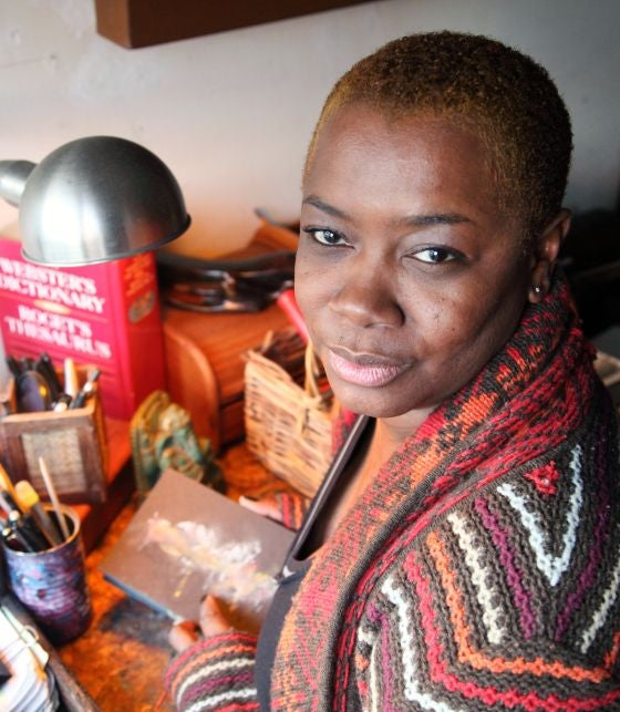 How Dianne Smith Turned A Domestic Violence Incident Into Art