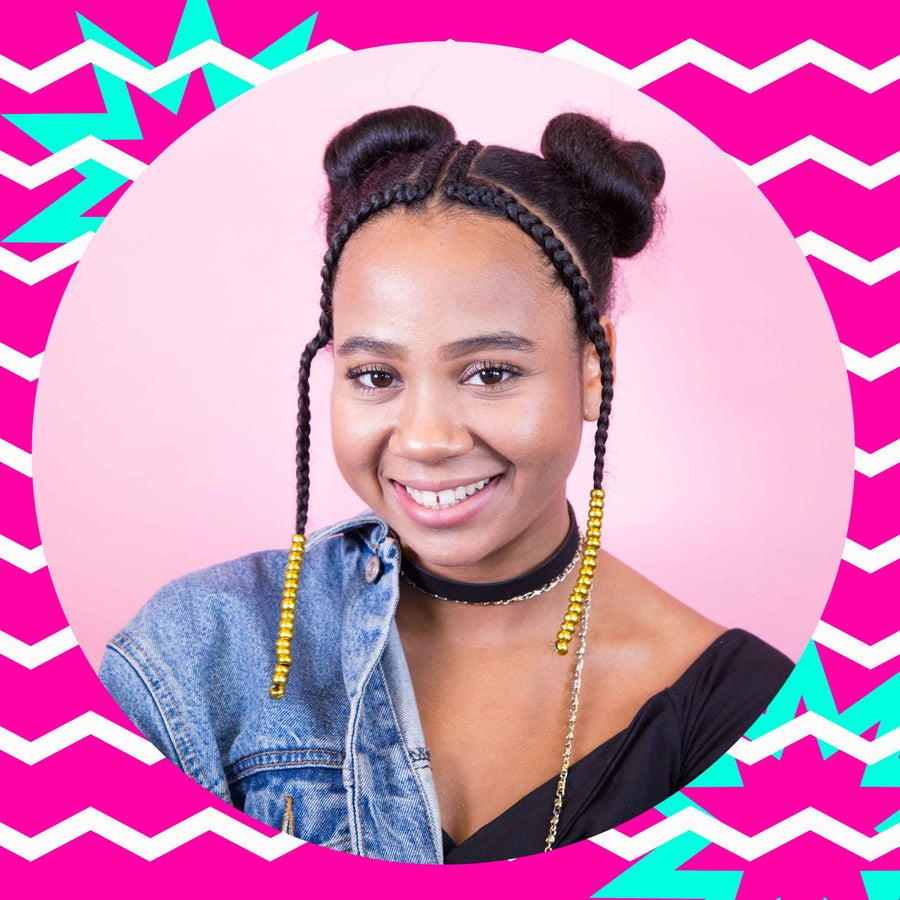 This Space Buns Hair Tutorial Comes With A Braided Twist