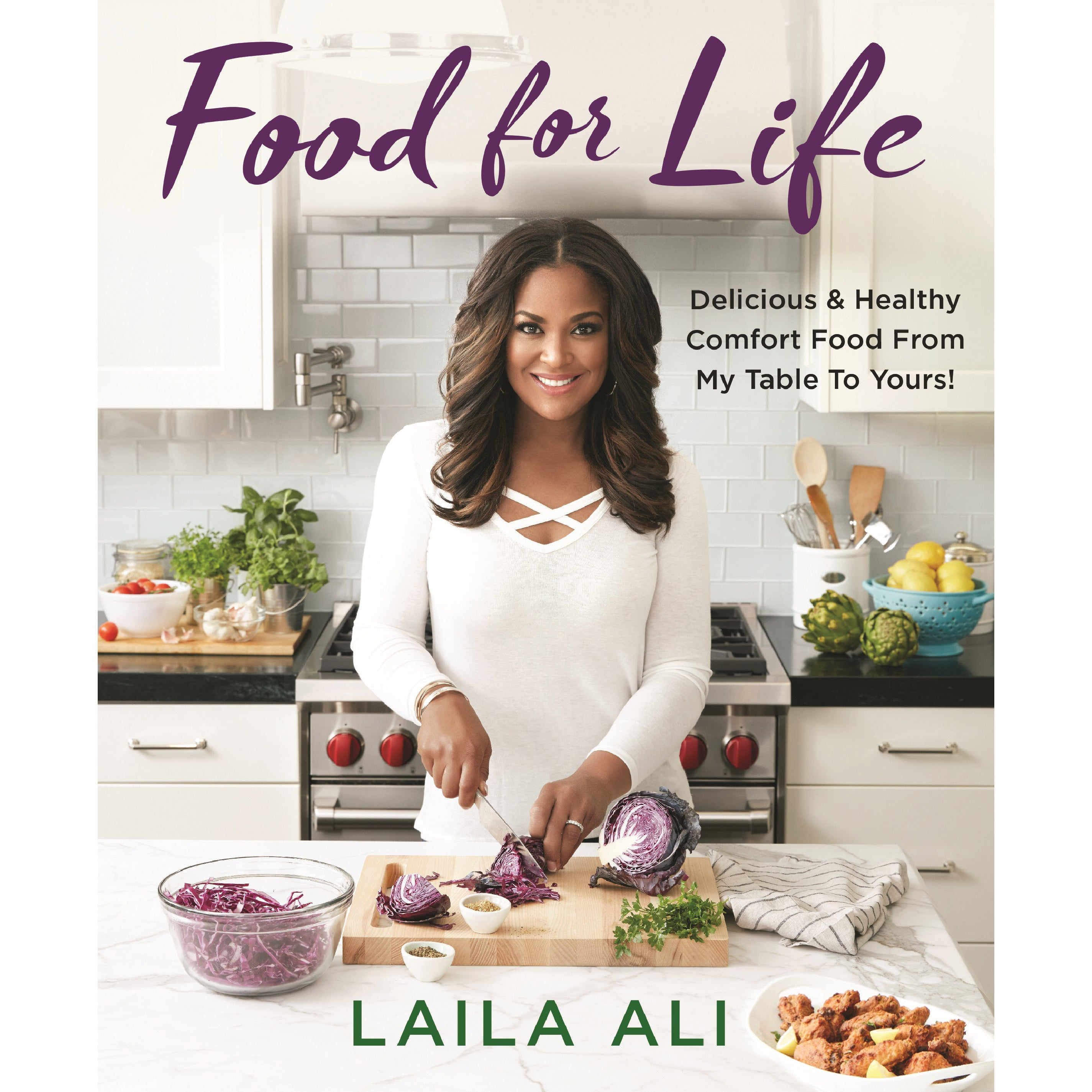 Laila Ali Honors Her Dad Muhammad In Forthcoming Cookbook, Shares What They Had In Common In the Kitchen