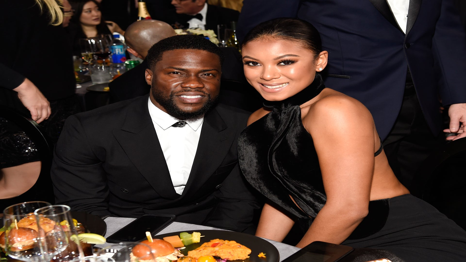Kevin Hart's Wife Eniko Shows Off Baby Bump In Tiny Red Bikini On Tropical Vacation