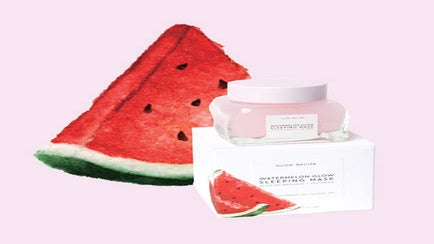 This Watermelon Face Mask Has A 5,000 Person Wait List
