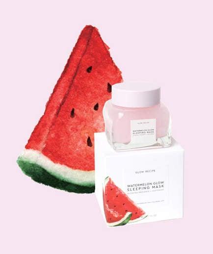 This Watermelon Face Mask Has A 5,000 Person Wait List