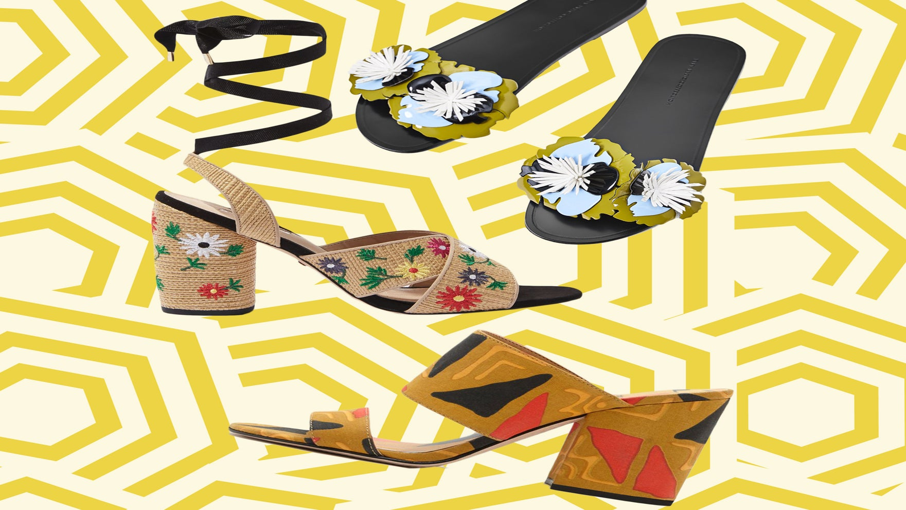 Festive Feet! 10 Fun Shoes Under $100 That'll Help You Boldy Step Into June