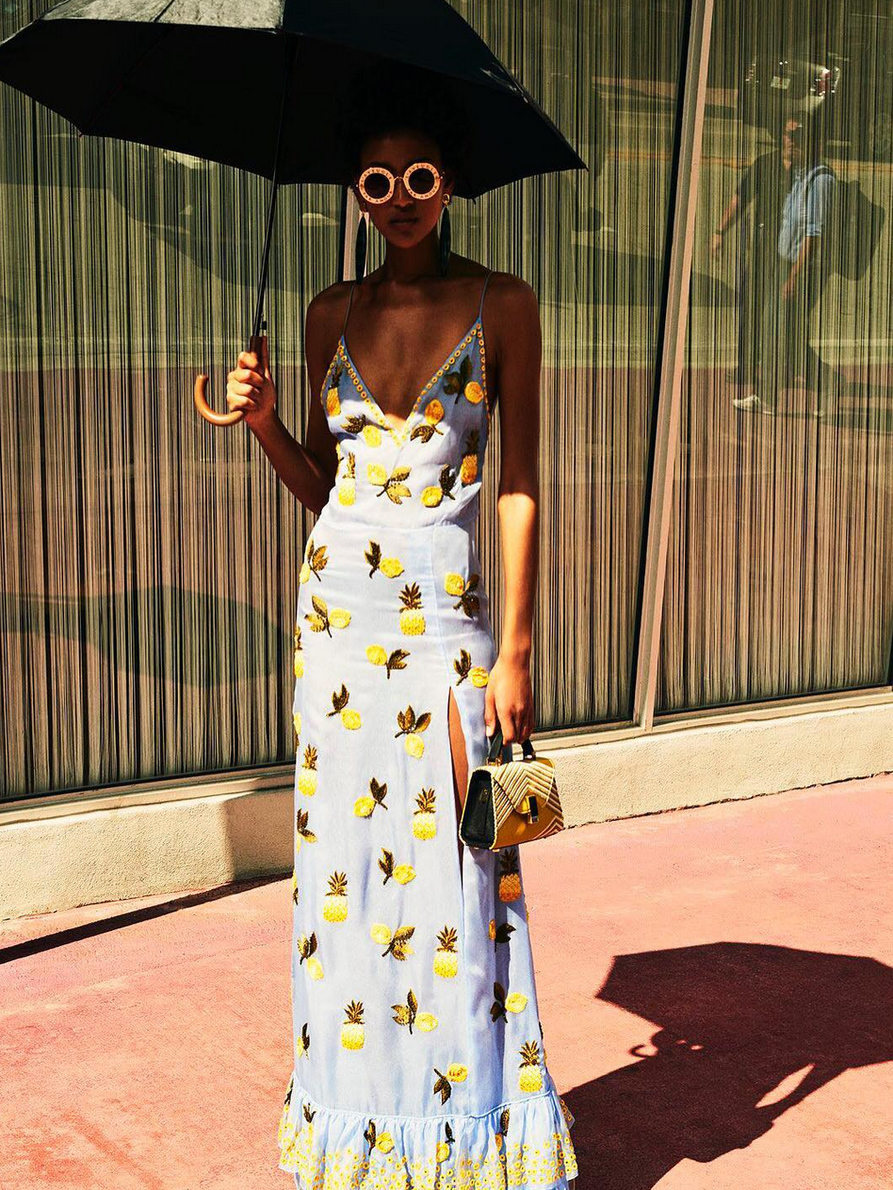 What I Screenshot This Week: The $11,000 Pineapple Printed Dress That Inspired My Summer Wardrobe