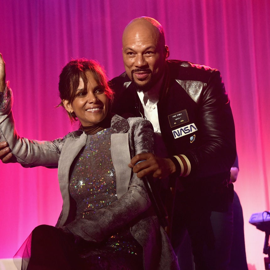 Halle Berry Gets Serenaded By Common As Fans Speculate If The Actress Is Pregnant