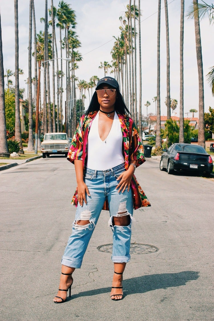 """ESSENCE Network: This Fashionista is Redefining The Word """"Hippie"""" One Look at a Time"""