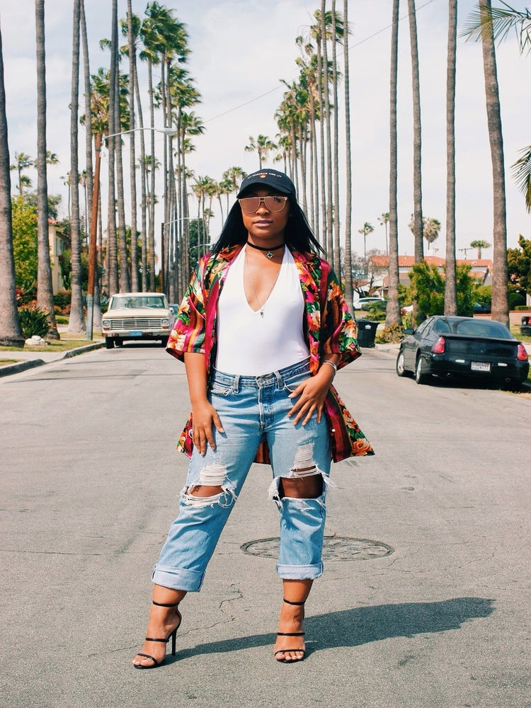 "ESSENCE Network: This Fashionista is Redefining The Word ""Hippie"" One Look at a Time"