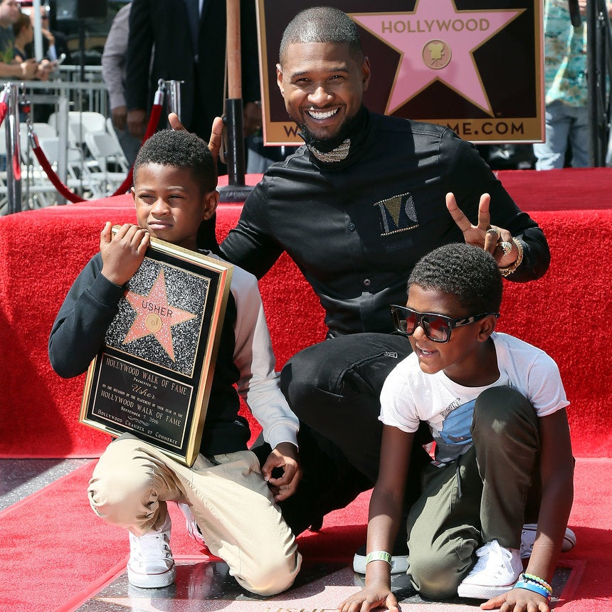 Usher Missed The Manchester Benefit Concert To Take His Son To Summer Camp