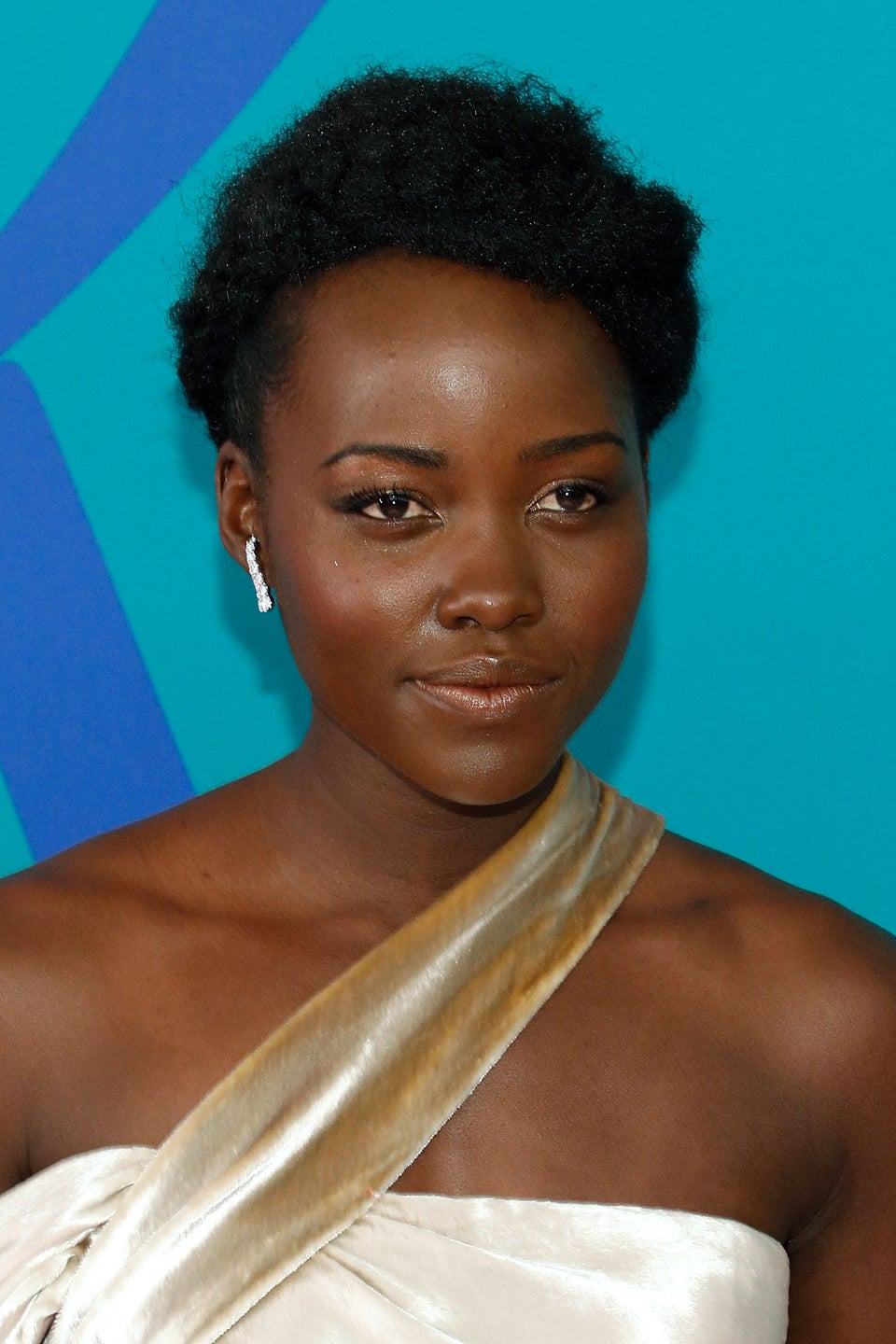 Lupita Wants Everyone to Discover the Fun in Colorful Bold Makeup