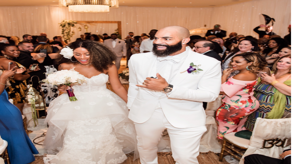 In Case You Missed It, Former NBA Star Carlos Boozer's Miami Wedding Was Beautiful