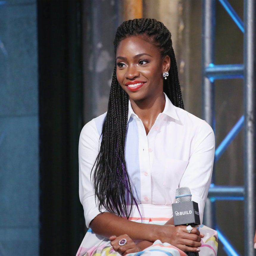 Teyonah Parris Looks Like A Queen in Braids and Beads