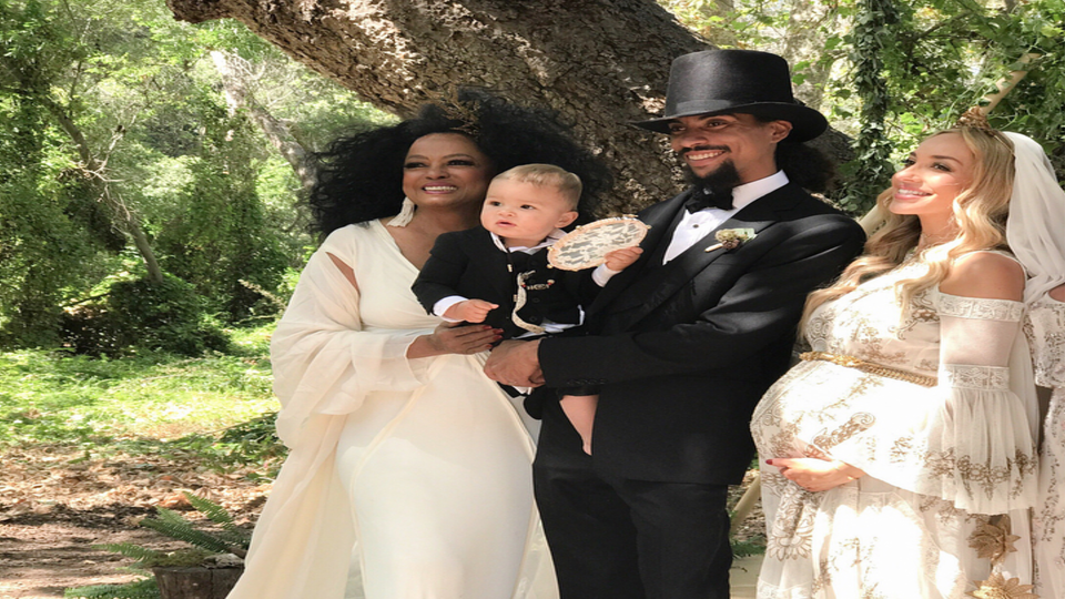 Diana Ross' Son Ross Ties The Knot In Beautiful Ceremony