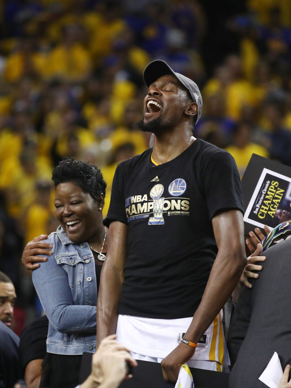 All Of The Reasons Why Kevin Durant's Mom Wanda Is The Real MVP, Again!
