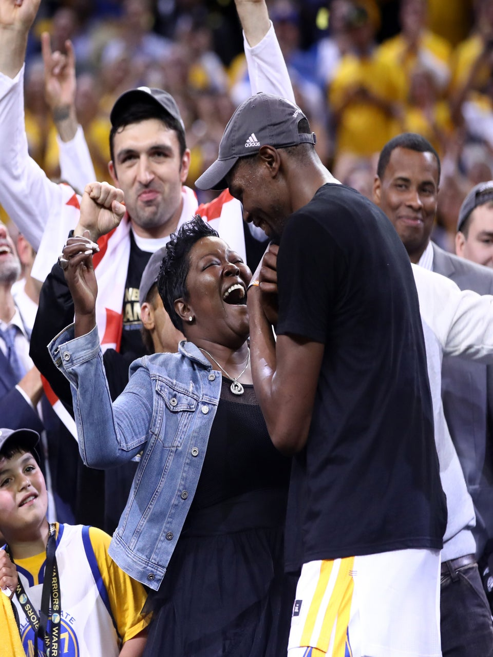 Riley Curry And Kevin Durant's Mom Were The Real MVPs Of The NBA Finals
