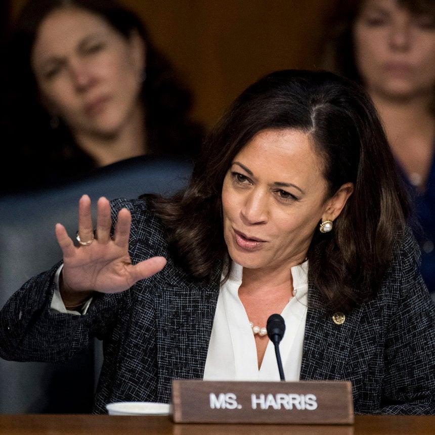 White Senators Can't Stop Interrupting Kamala Harris