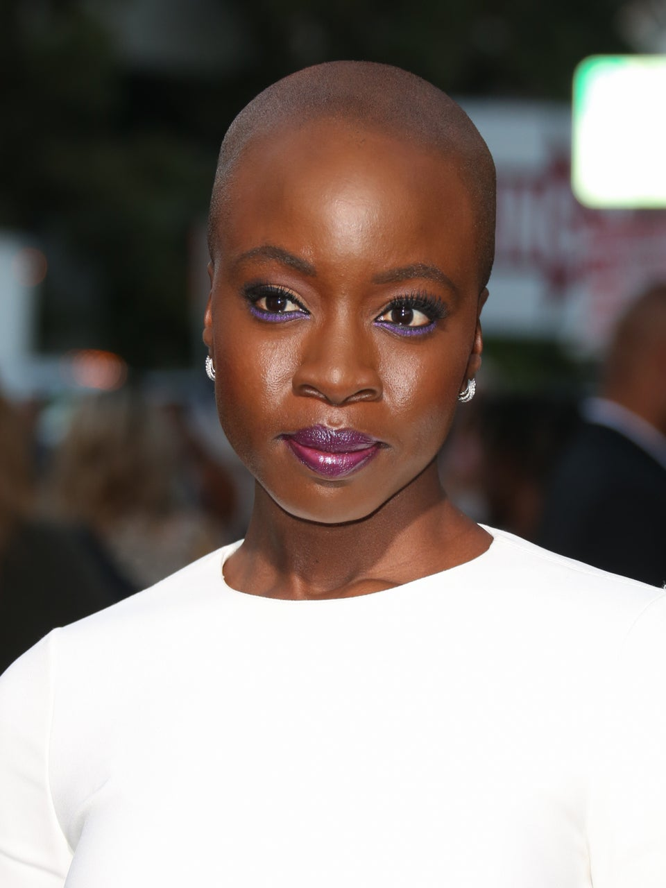 Danai Gurira Wore The Coolest Liner Look to 'All Eyez On Me' World Premiere