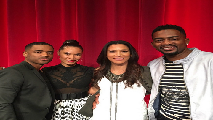 Bill Bellamy and Larenz Tate Celebrate Love Jones' 20th Anniversary With Their Wives
