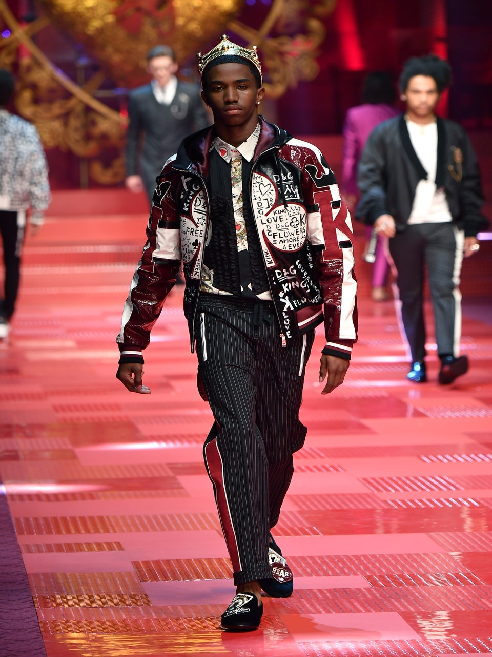 Diddy's Son Christian Combs Stars In Dolce & Gabbana's New Campaign