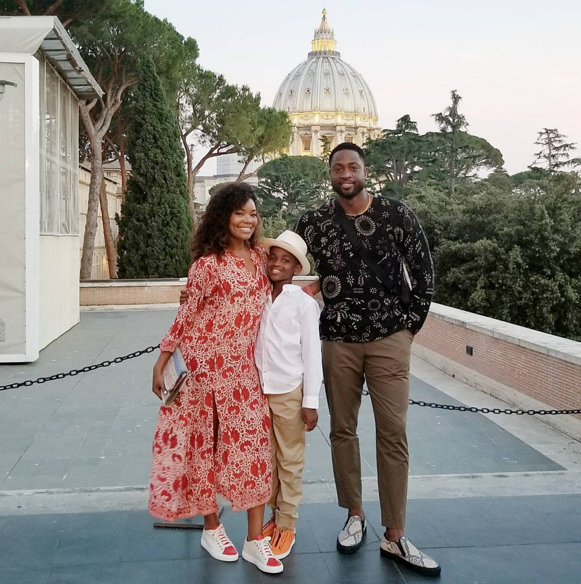 Gabrielle Union And Dwyane Wade's Italian Family Vacation