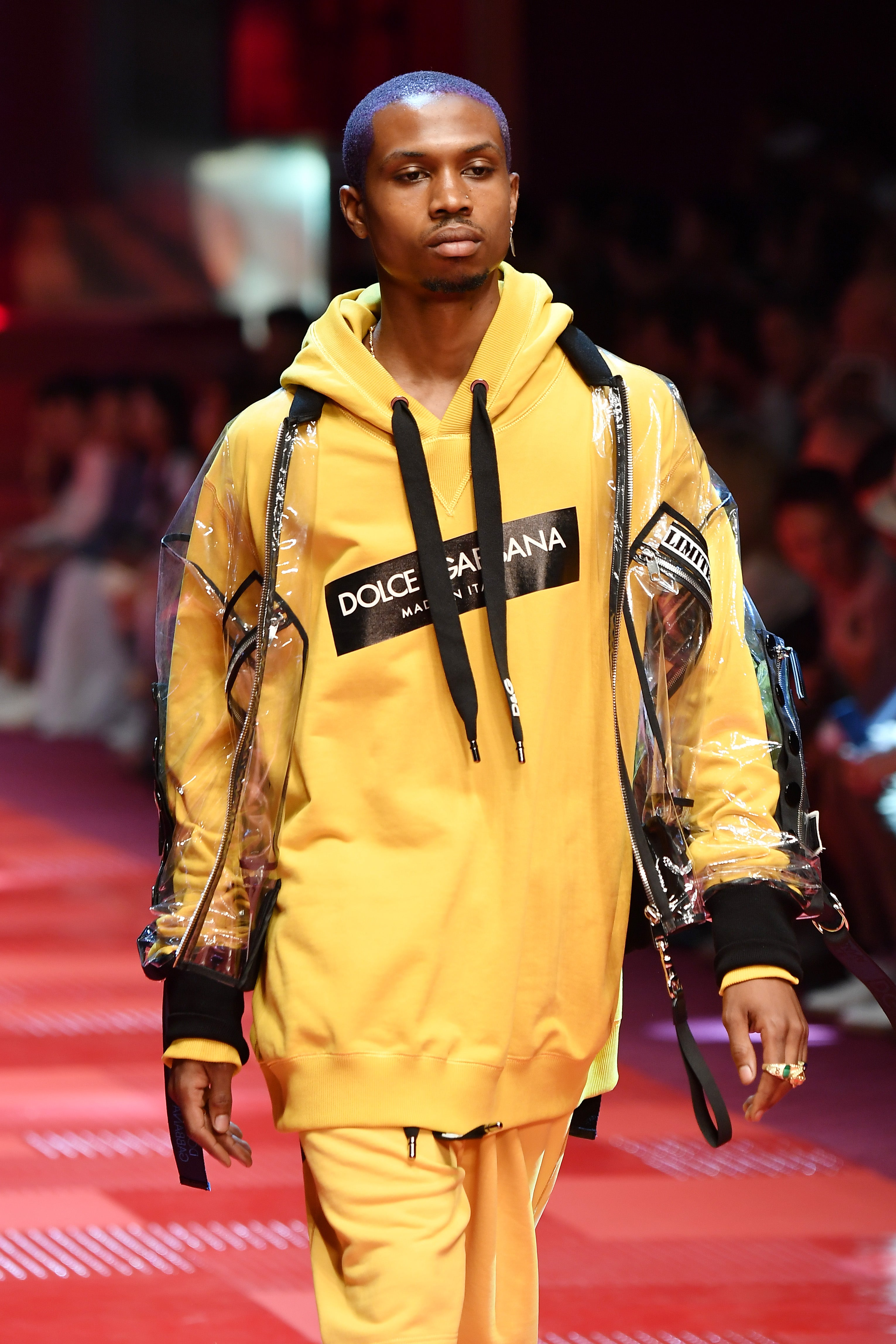 ab2380bebe43 Why This Young Artist Used His Dolce   Gabbana Runway Debut to Stage ...