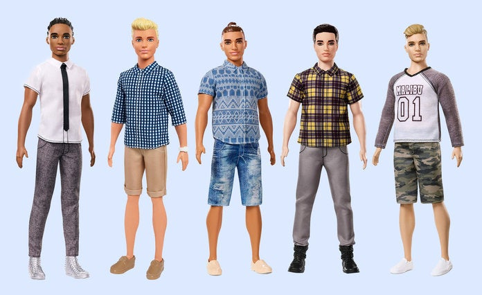 Mattel Introduces a New Line of Diverse Ken Dolls—Cornrows Included