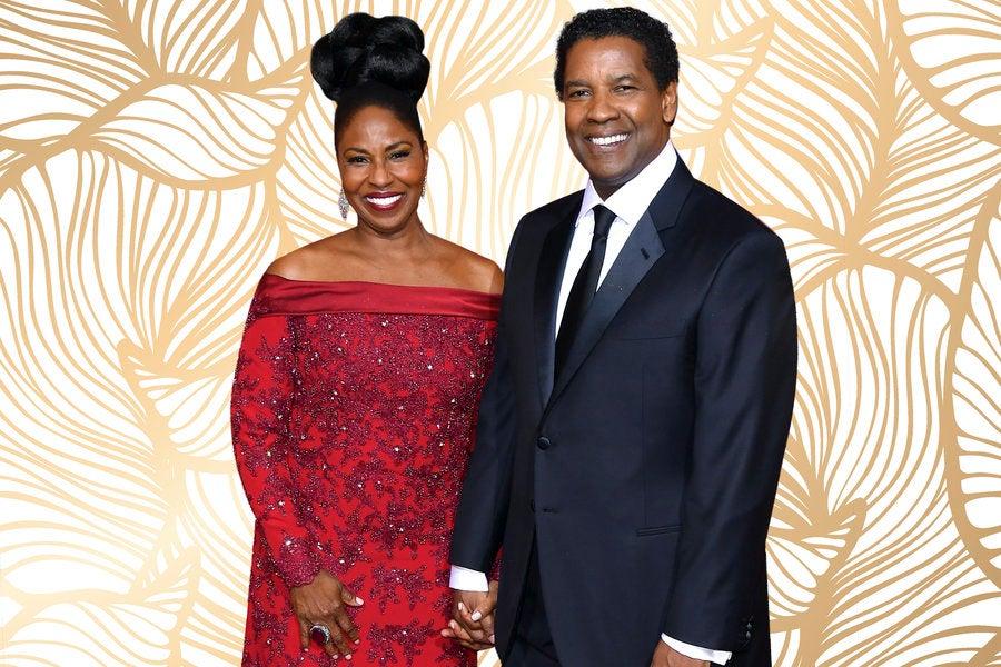 Denzel Washington And Wife Pauletta Washington Photos Then ...