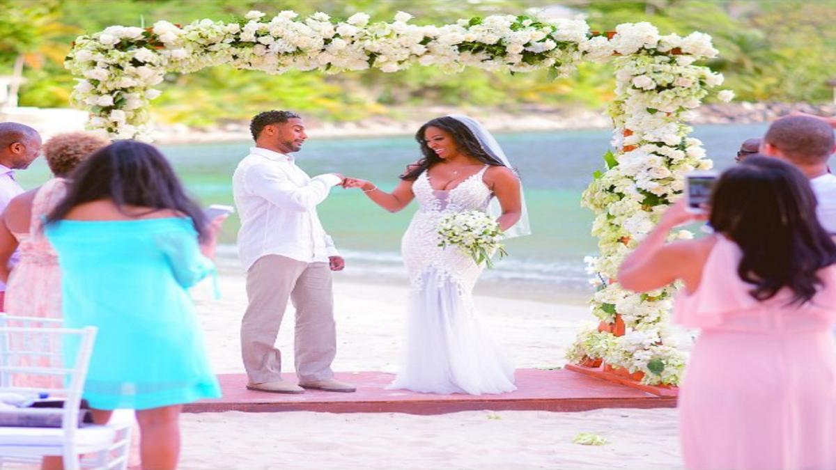 Kenya Moore's Wedding Details! The RHOA Star On Her Dress, Her Vows And The St. Lucia Celebration