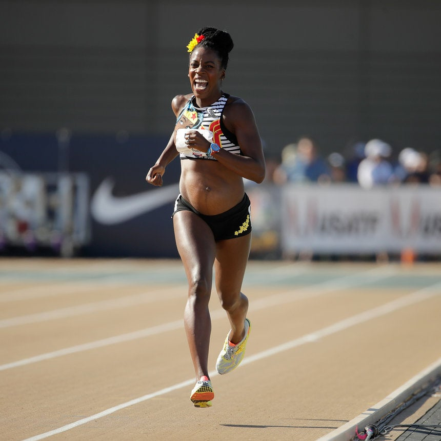 Olympic Runner Alysia Montaño Bares Pregnant Belly At Track And Field Nationals, Inspires Us All