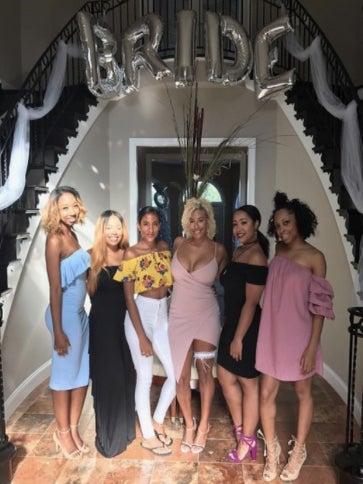 Ginuwine Celebrates Daughter's Bridal Shower