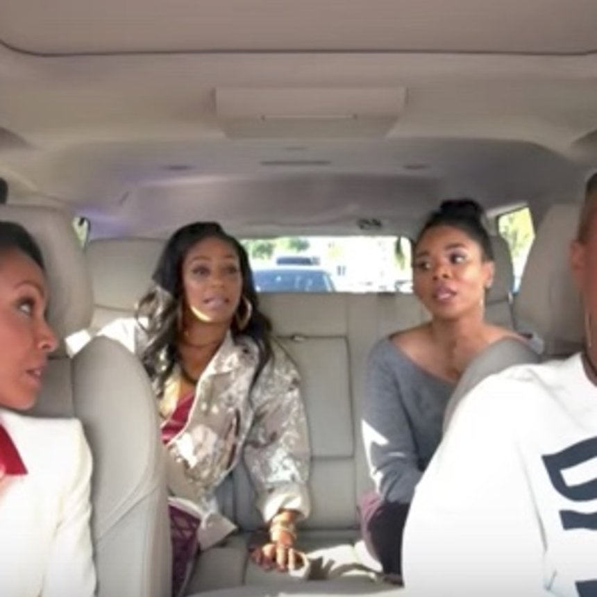 The Ladies Of 'Girls Trip' Tease 'Carpool Karaoke' Series