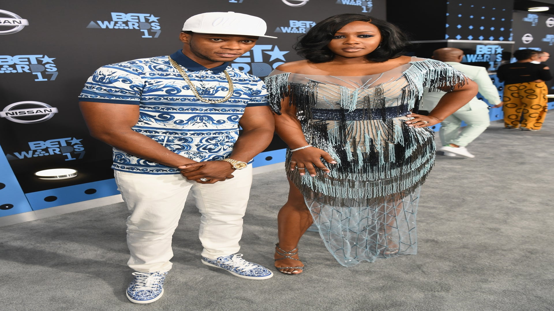 Remy Ma and Papoose Are Couple Style Goals on BET Awards Red Carpet