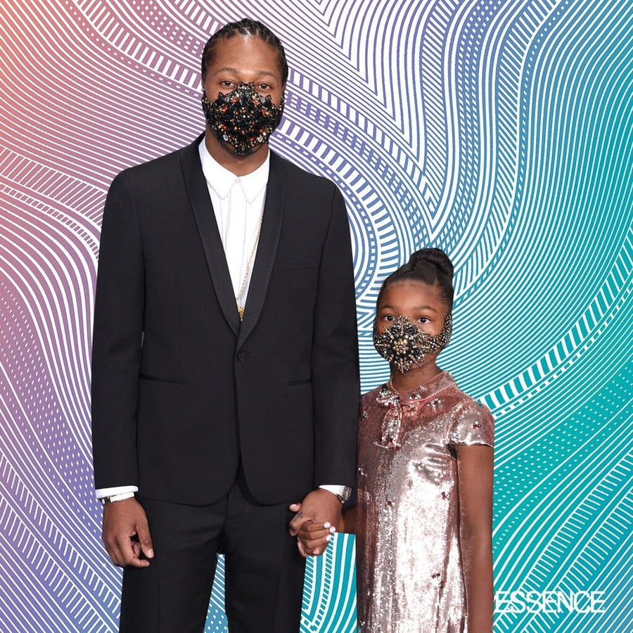 Future and Daughter Londyn Serve Mask On Moment at BET Awards