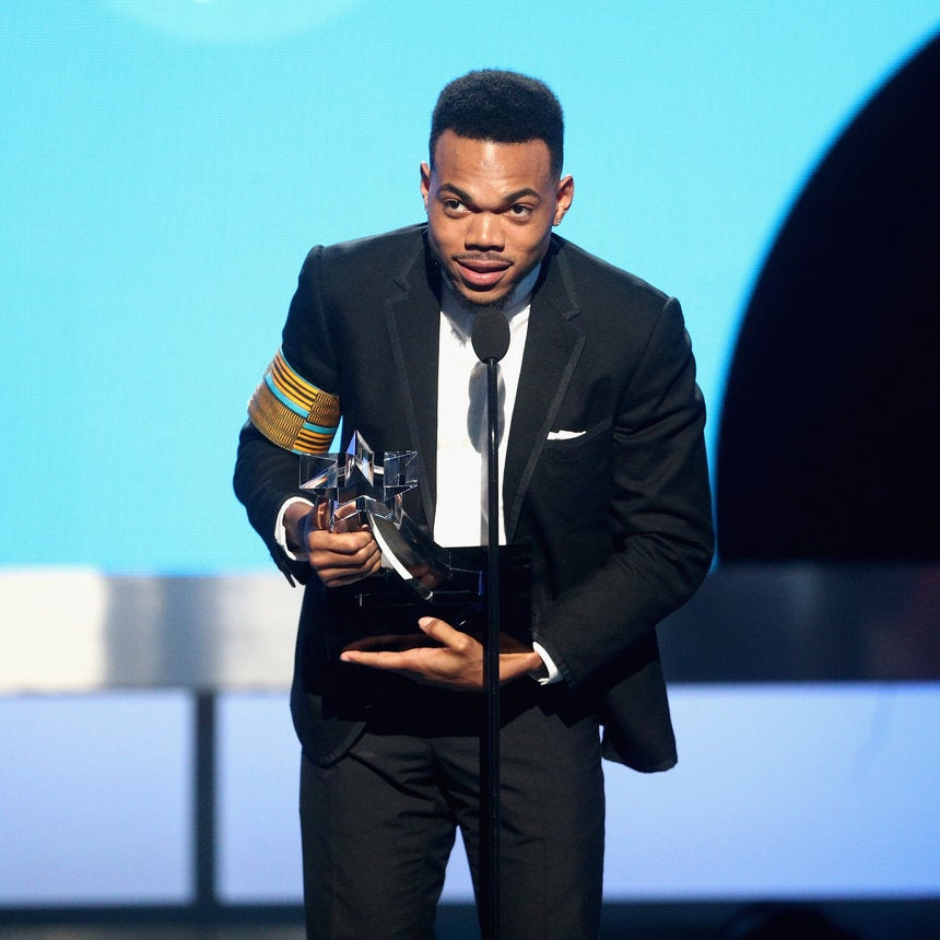 Chance The Rapper Receives Humanitarian Award At BET Awards