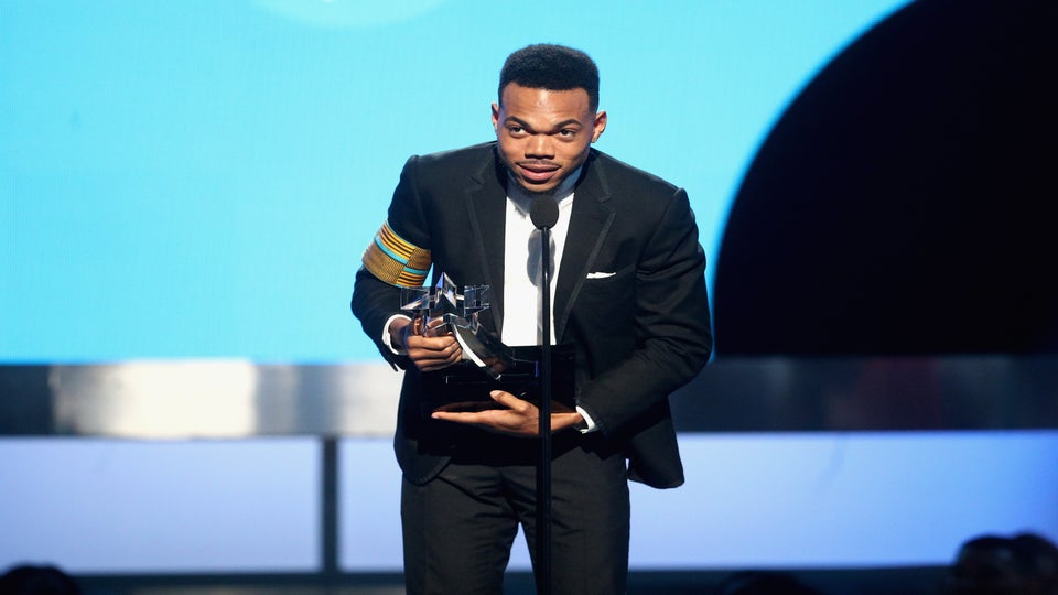 Chance The Rapper Receives BET's Humanitarian Awards