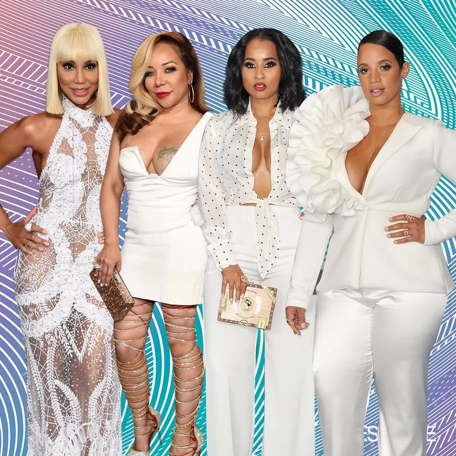 Lovely Ladies in White at the 2017 BET Awards