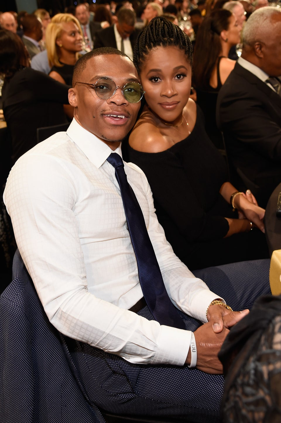 Russell Westbrook Tearfully Thanks Wife Nina While Accepting NBA MVP Award