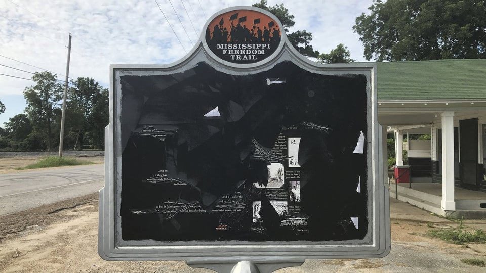 Students Flood Positive Messages Over Vandalized Emmett Till Mississippi Landmark