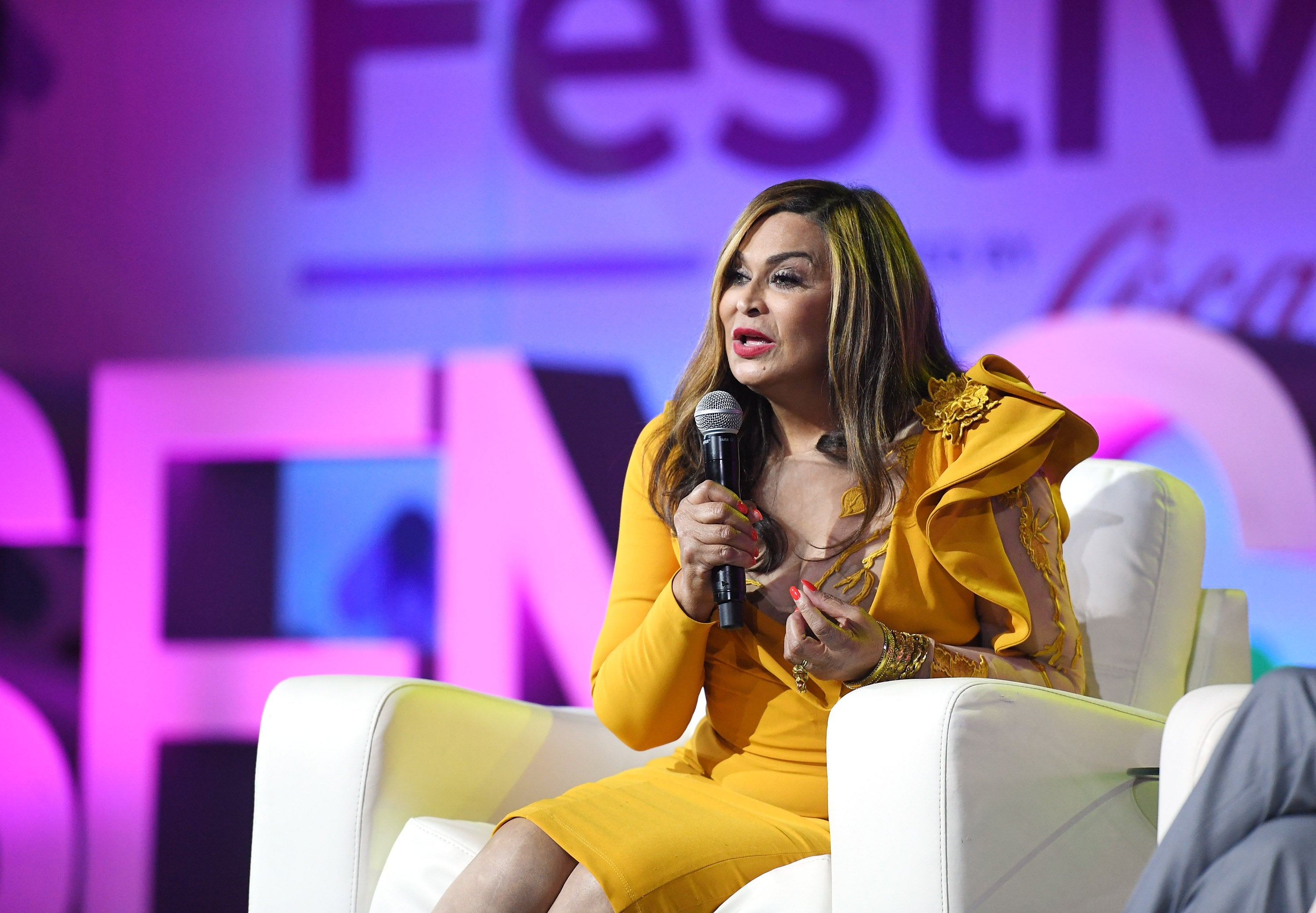 Tina Knowles Opens Up About Past Money Problems During Intimate Talk At ESSENCE Fest