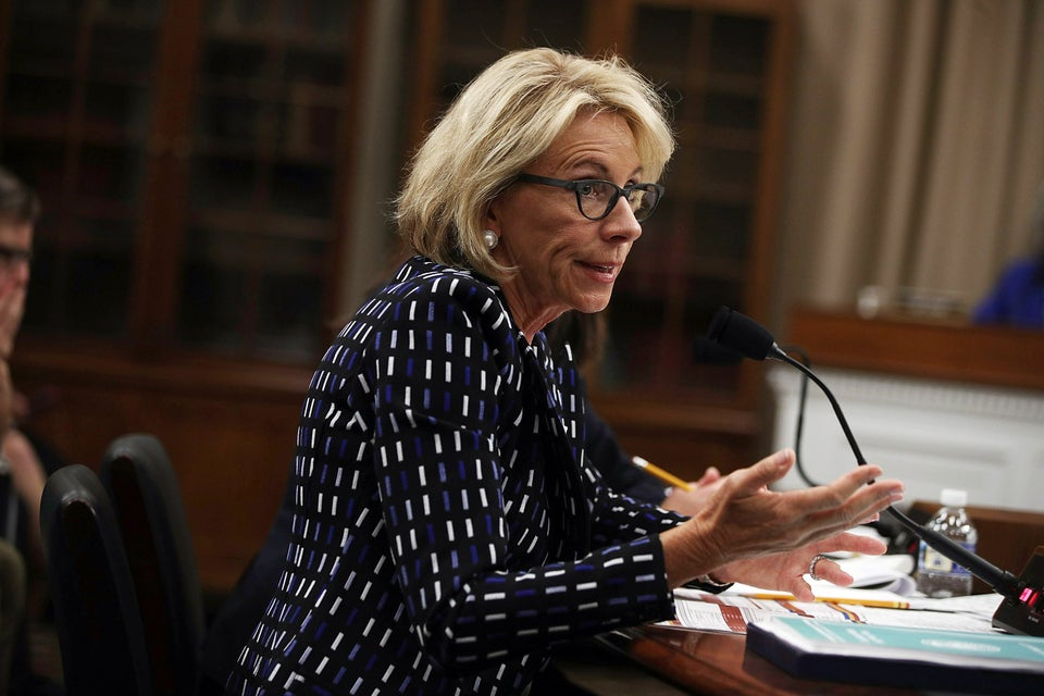 Betsy DeVos Wants To Spend Millions On School Vouchers Despite Studies Saying They Don't Actually Work