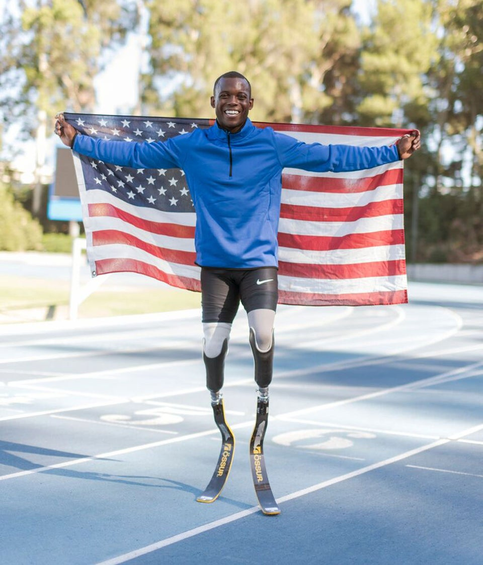 Double Amputee Blake Leeper Makes History At The U.S. Track And Field Championships