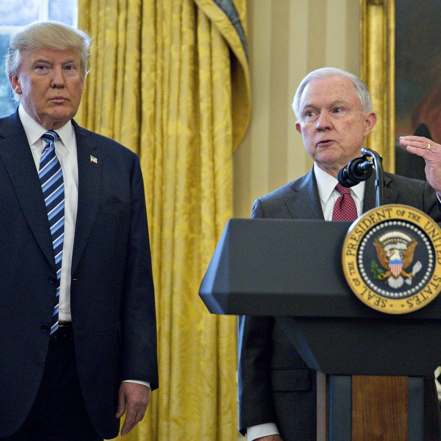 There's A Reason Donald Trump Is Calling AG Jeff Sessions 'Weak' In Public