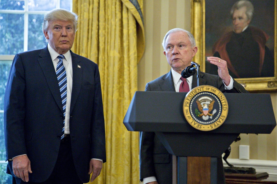 """Donald Trump Calls AG Jeff Sessions """"Weak"""" On Twitter"""