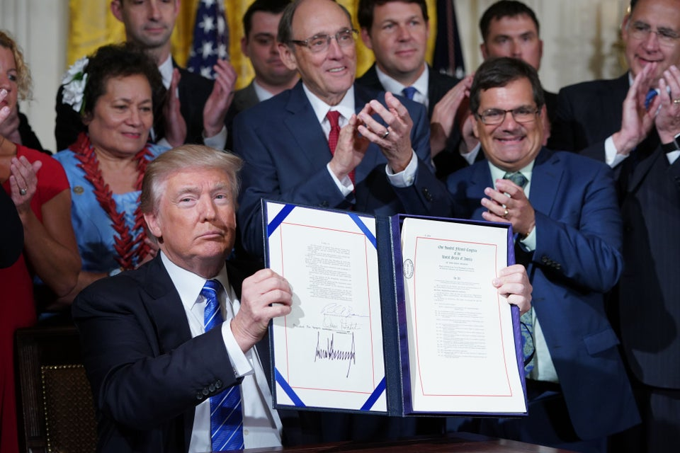 President Trump Signs VA Reform Bill to Fire Workers 'Who Let Our Veterans Down'