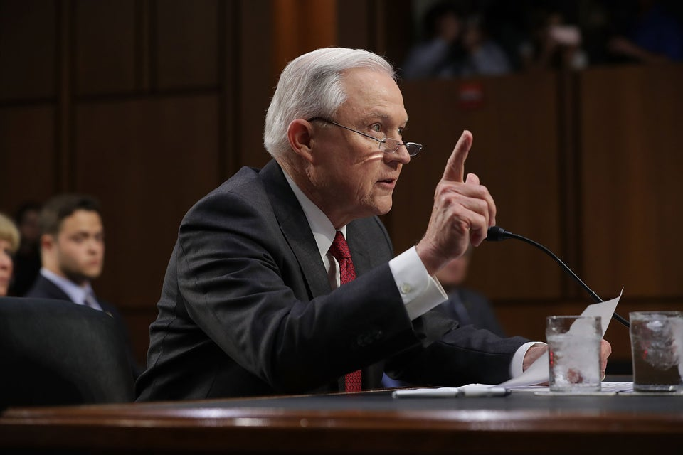 """Jeff Sessions Calls Sheriff's Office A """"Critical Part Of The Anglo-American Heritage Of Law Enforcement"""""""